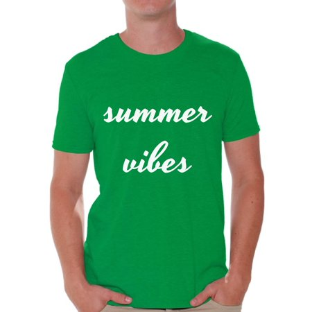54a283c9528f Awkward Styles Summer Vibes Shirt Men s Summer Vacation Tshirt Vacay Mode T- Shirt Beach Party Outfit Funny Summer Gifts for Him Vacation Shirts for Men  On ...