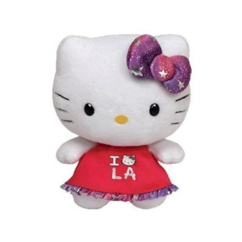 Ty Beanie Babies Hello Kitty Plush, Los Angeles by TY Inc