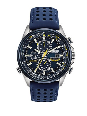 Eco-Drive Blue Angels Chronograph Atomic Men's Watch, AT8020-03L