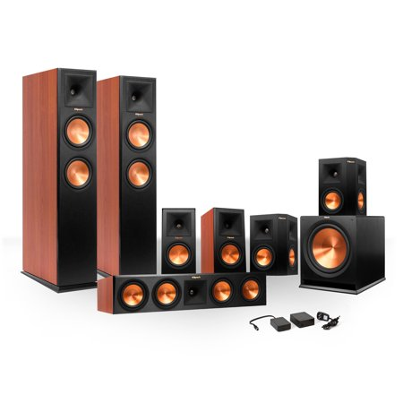 Klipsch 7.1 RP-280 Reference Premiere Surround Sound Speaker Package with R-115SW Subwoofer and FREE Wireless... by