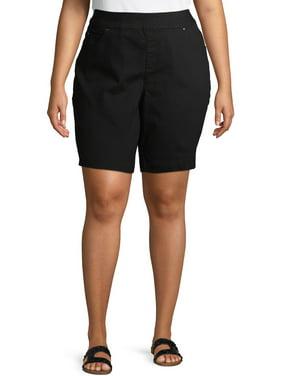 Terra & Sky Women's Plus Pull-On Shorts
