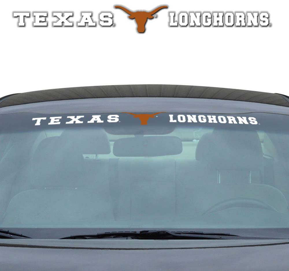 "Texas Longhorns 35""x4"" Windshield Decal"