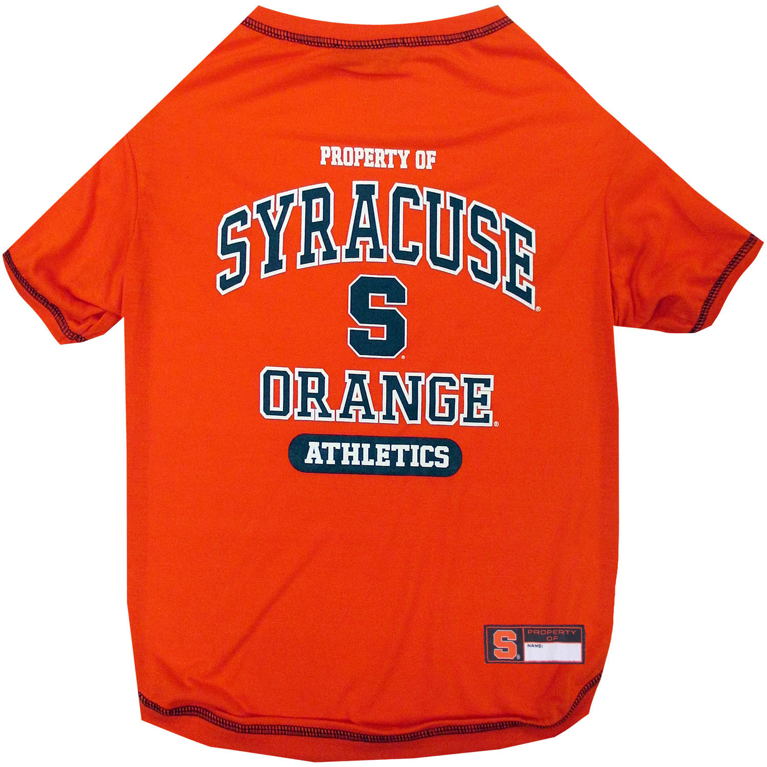 Pets First Collegiate Syracuse Orange Pet T-shirt, Assorted Sizes