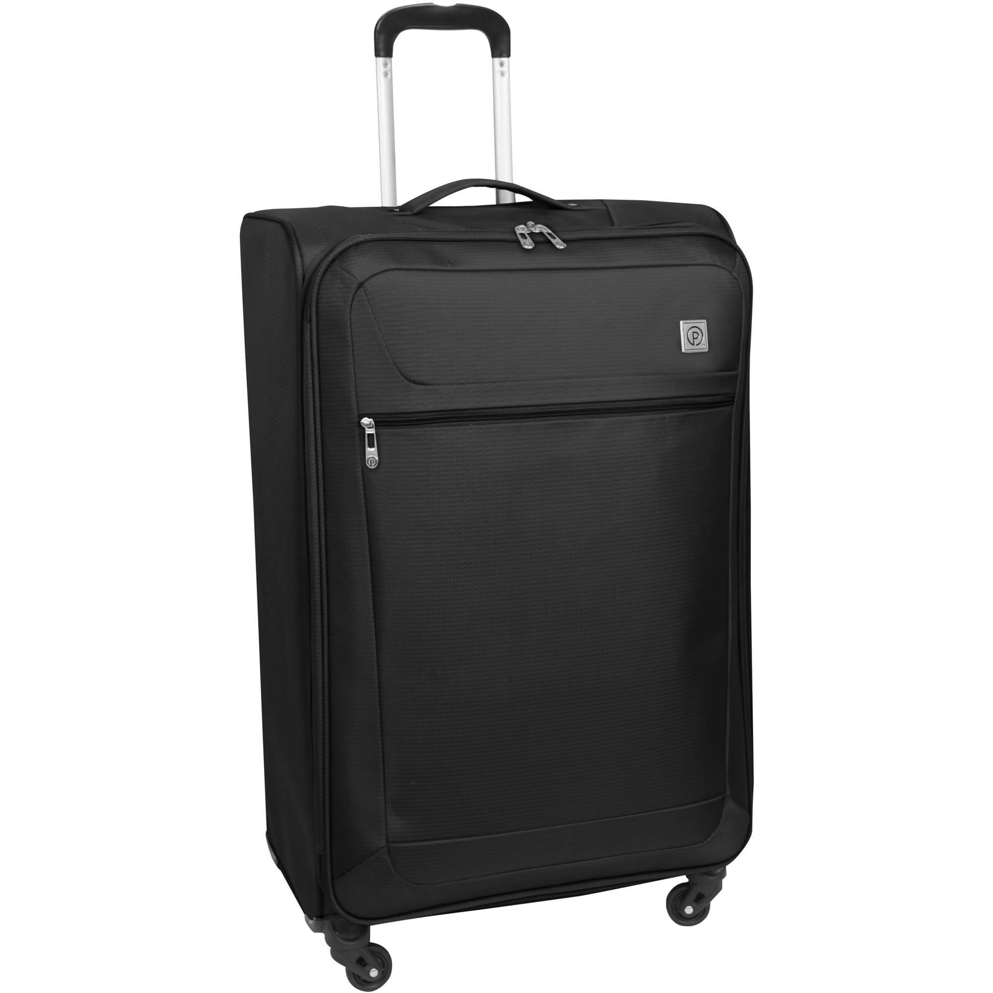 PROTEGE Vapor Lightweight Luggage, Black - Walmart.com