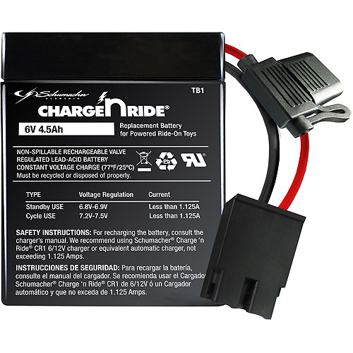Schumacher Electric 6V 4.5 AH Battery Assembly