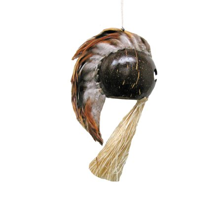 (Hawaiian Helmet Ikaika Warrior Mask 3 Inches)