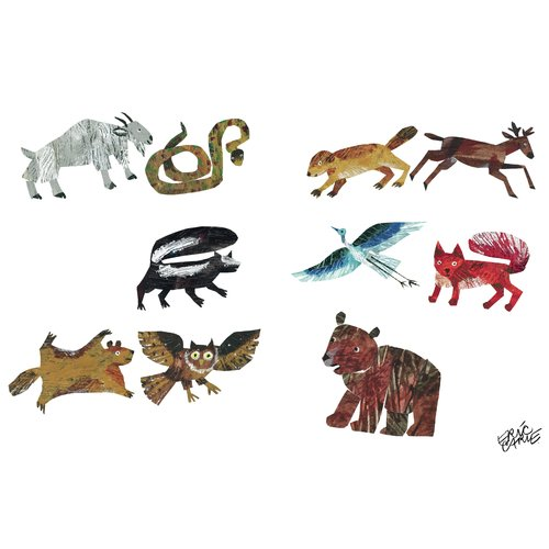 Marmont Hill 'Animal Variety' Graphic Art Print on Wrapped Canvas
