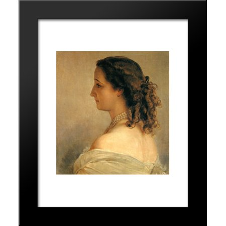 Eugenie, Empress of the French 20x24 Framed Art Print by Franz Xaver Winterhalter