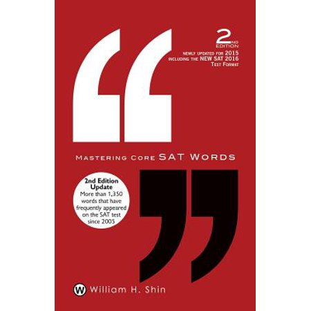 Mastering Core SAT Words : 2nd Edition
