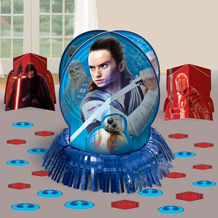 Star Wars Episode VIII: The Last JediTable Decorating Kit](Star Wars Table Decorations)