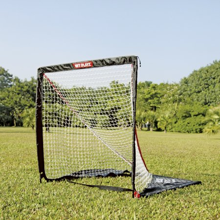 Net Playz Portable Easy Fold Up Lacrosse Goal  4Ft X 4Ft Or 6Ft X 6Ft