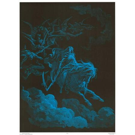 Death Rides a Pale Horse Blacklight Poster - 23x31 - Blacklight Website