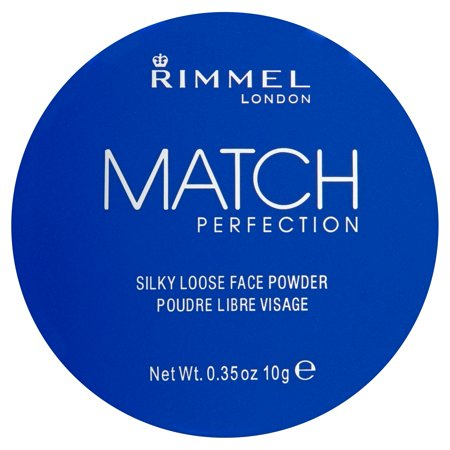 Rimmel London Match Perfection 001 Transparent Silky Loose Face Powder  0 35 Oz