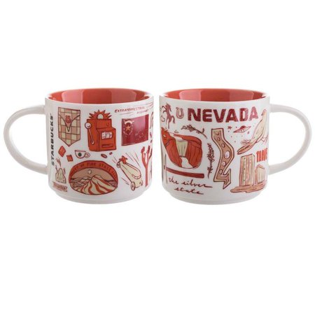 Starbucks Been There Series Collection Nevada Ceramic Coffee Mug New with