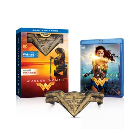 Wonder Woman  2017   Walmart Exclusive   Blu Ray   Dvd   Digital Hd