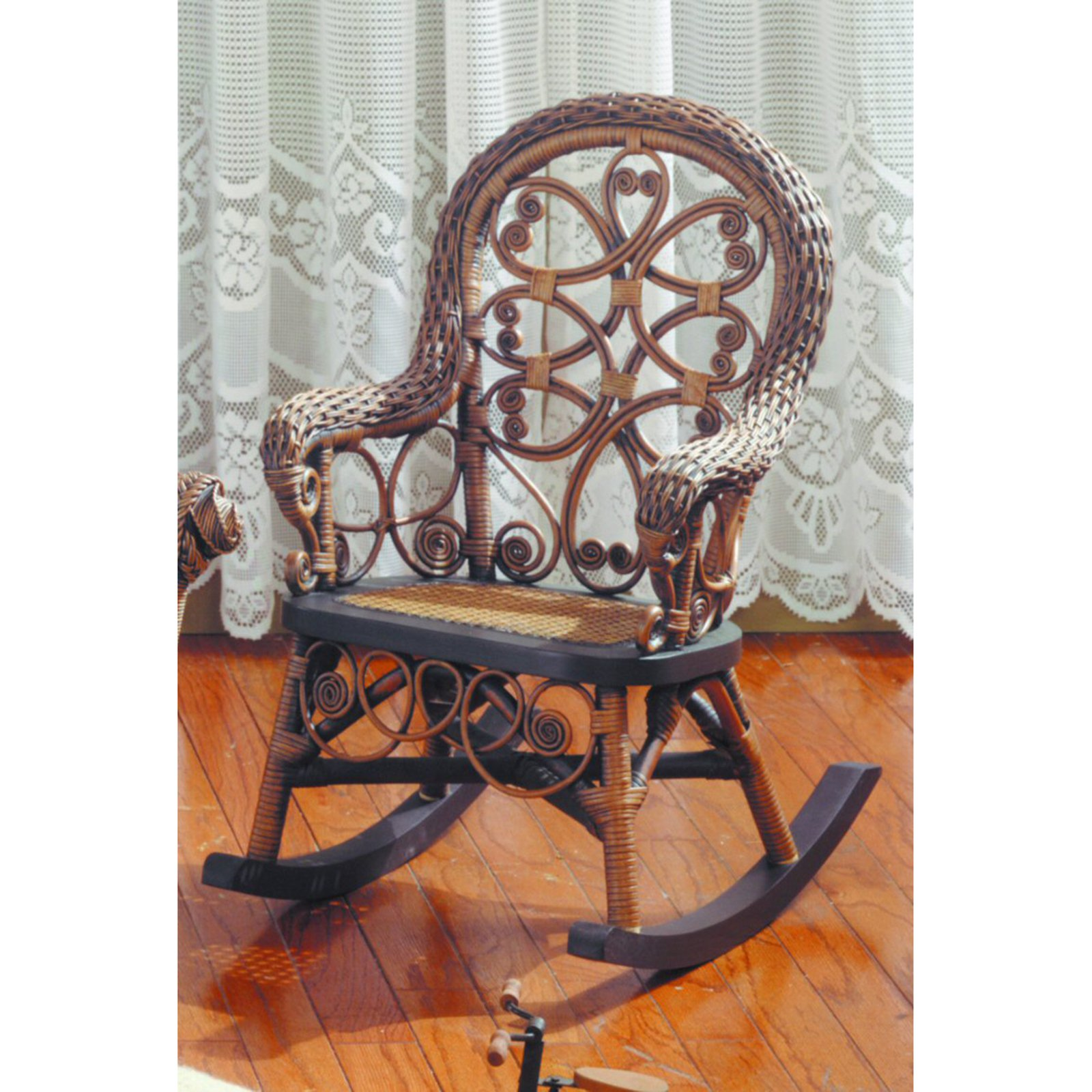 Victorian Wicker Childs Rocking Chair   Walmart.com