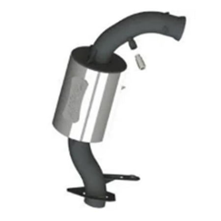 Mbrp Mbrp Xp Series (MBRP 132T207 17 lbs Trail Series Performance Exhaust for Skidoo 850R E-TEC, Silver)