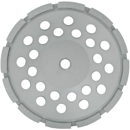 Single Row Cup Wheel (Lackmond 7-Inch Single Row Segmented Diamond Grinding Cup Wheel with 5/8-11 Nut )