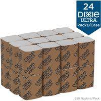 Dixie Ultra Interfold 2-Ply Napkin Refill, 32006, 6,000 Napkins per Case