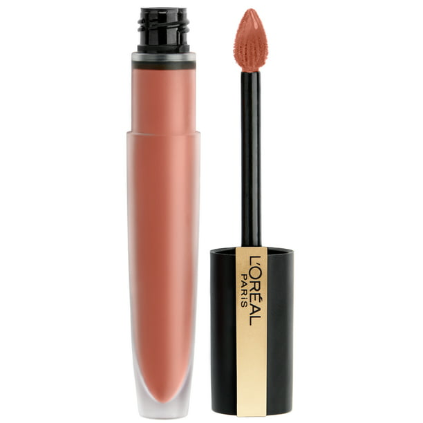 L'Oreal Paris Rouge Signature Lightweight Matte Lip Stain, High Pigment, I Empower, 0.23 oz.
