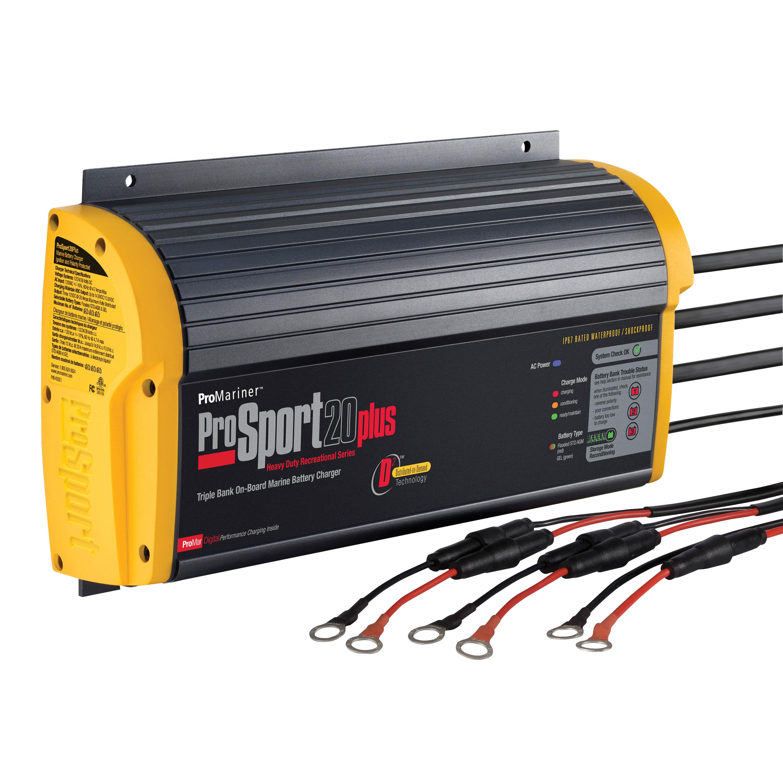Promariner 43021 Battery Charger Prosport 20 Amp - 3 Bank