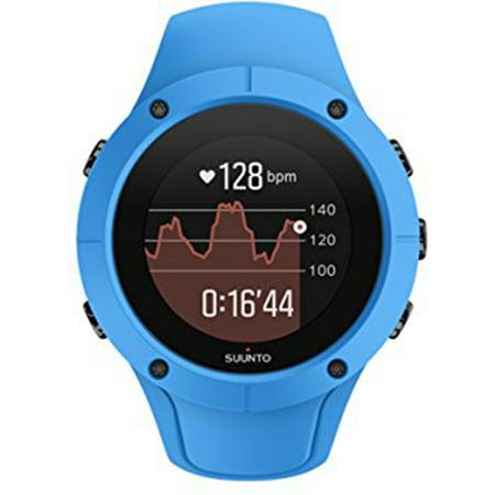 Suunto Spartan Trainer Wrist HR Watch, Blue ()