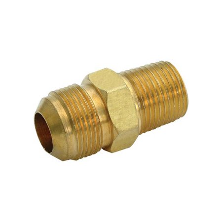 Adapter Fitting Flare - Ez-Flo 62730 Brass Flare Gas Fittings - Male Adapter