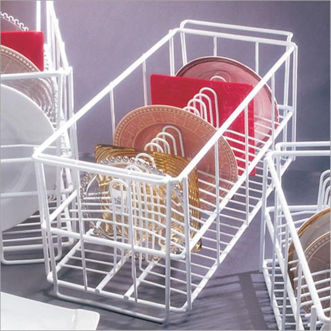 Ten Strawberry Street - Salad Plate Rack - Compartment 7. 5 Inches