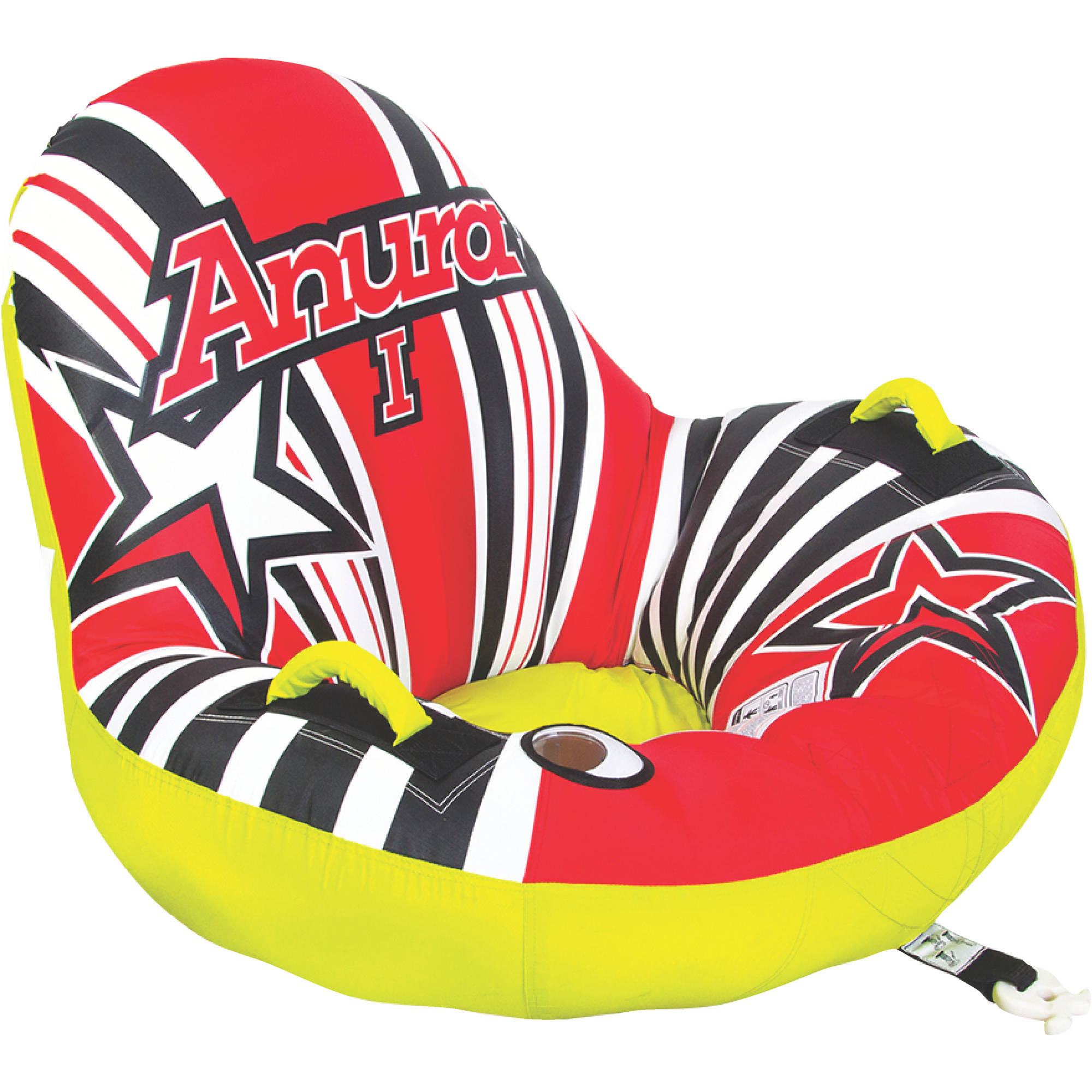 Jobe 230116004 Anura 1 Person Inflatable Towable by Jobe Sport International
