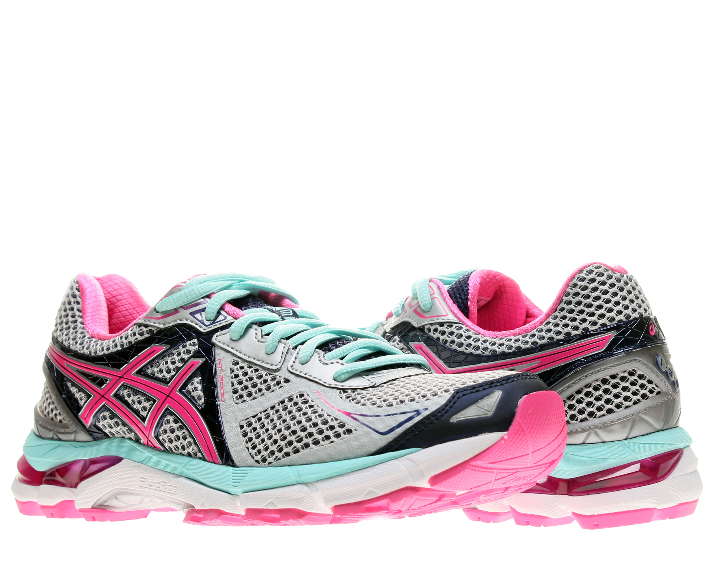 Asics GT-2000 3 Lightning Hot Pink Women's Running Shoes T550N-9335 by ASICS America Corporation