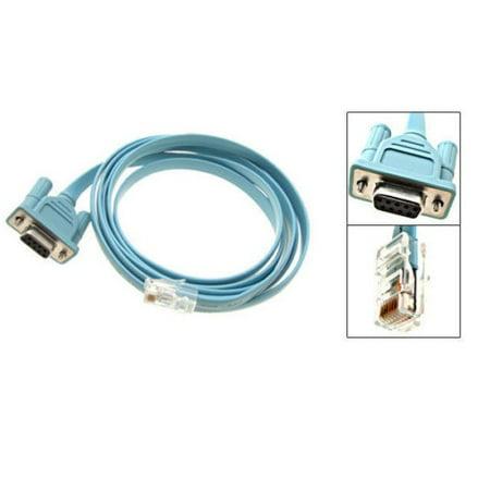 6' RJ45 to DB9 Router Cable - image 1 de 2