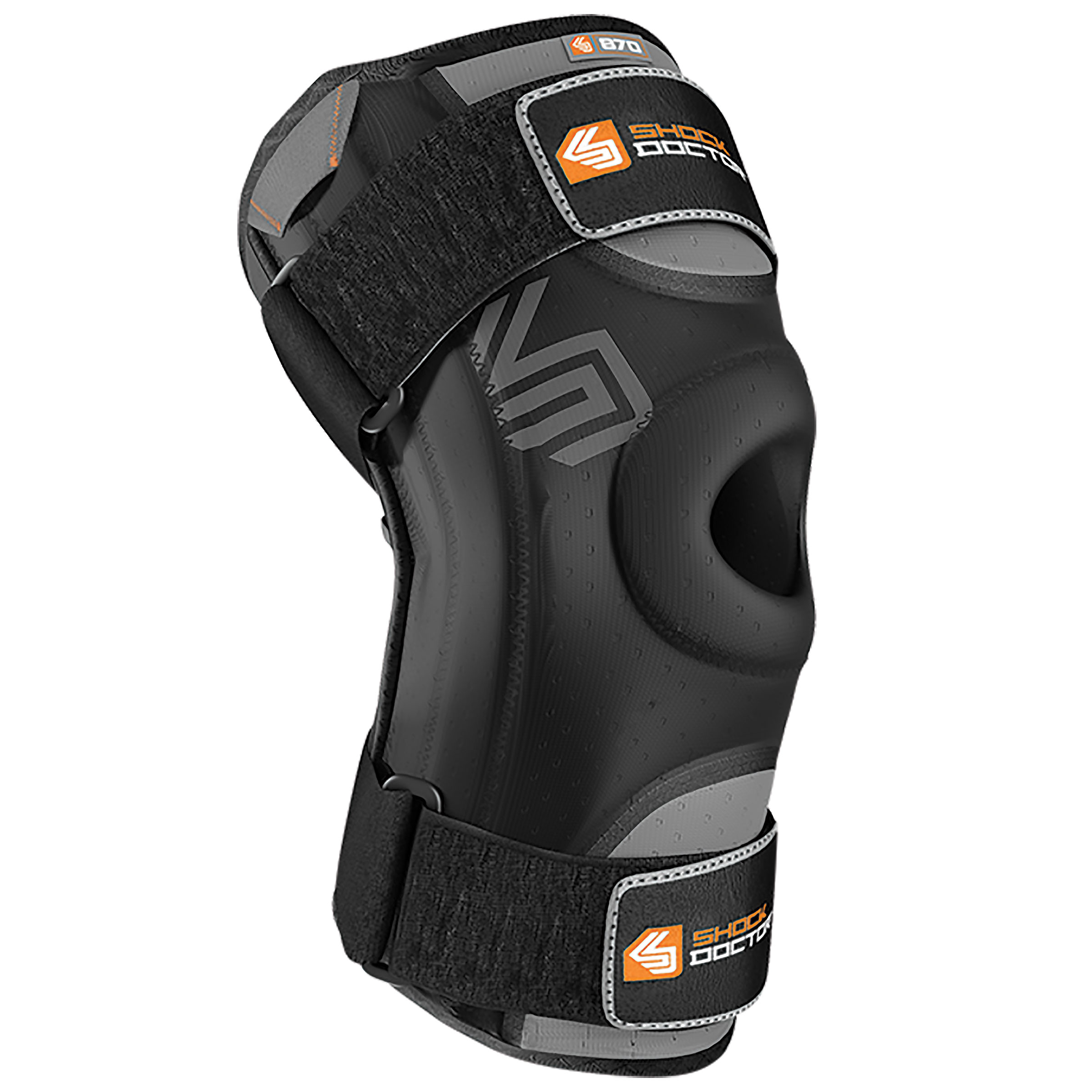 Shock Doctor Knee Stabilizer/Integrated Stays Black