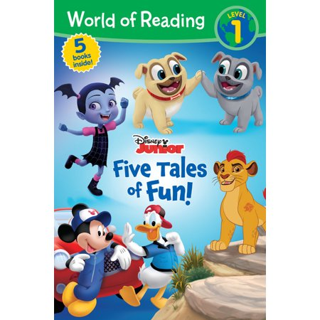 World of Reading: Disney Junior Five Tales of Fun! (Level 1 Reader - Disney World Orlando Halloween