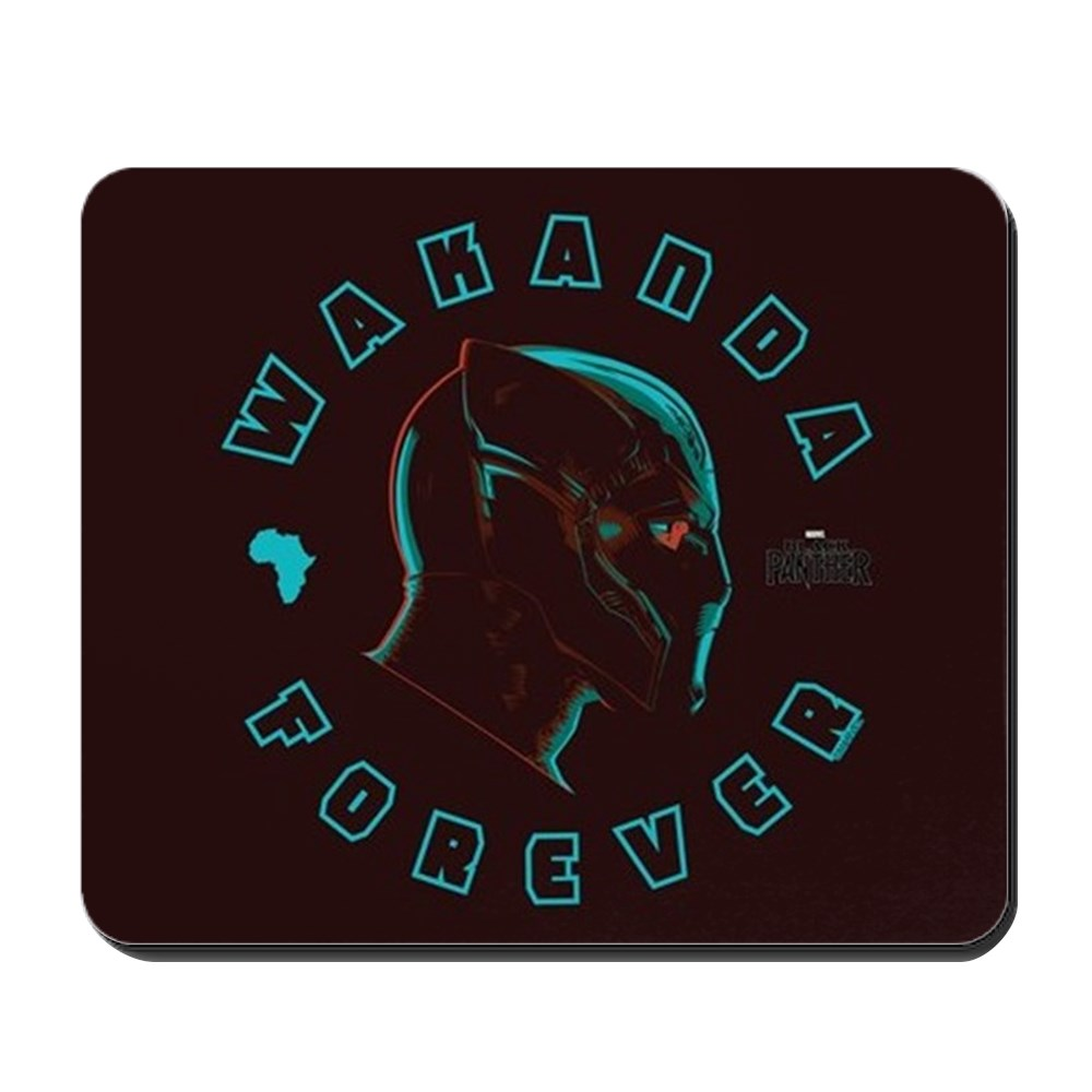 CafePress - Black Panther Wakanda Forever - Non-slip Rubber Mousepad, Gaming Mouse Pad