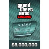 Grand Theft Auto Online - Megalodon Shark Cash Card, Rockstar Games, PC, [Digital Download], 818858023191