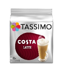 Tassimo Costa Latte 16 T Discs (Extra Large Cup Size) 8 S...