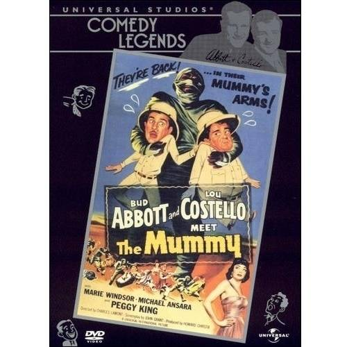 Abbott And Costello Meet The Mummy (Full Frame)