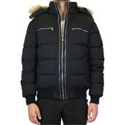 Men's Heavyweight Jacket With Detachable Fur Hood