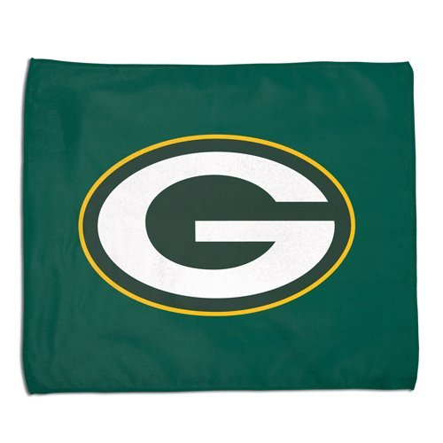 Green Bay Packers NFL Rally Towel 15x18 Sports Fan Football Hand Kitchen Bar Rag Officially Licensed NFL Merchandise
