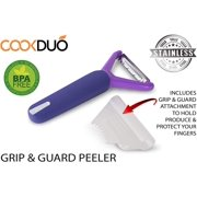 Grip & Guard Peeler - Julienne peeler with guard