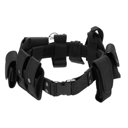 Police Utility Belts (Lixada Outdoor Tactical Belt Law Enforcement Modular Equipment Police Security Military Duty Utility Belt with Pouches Holster)