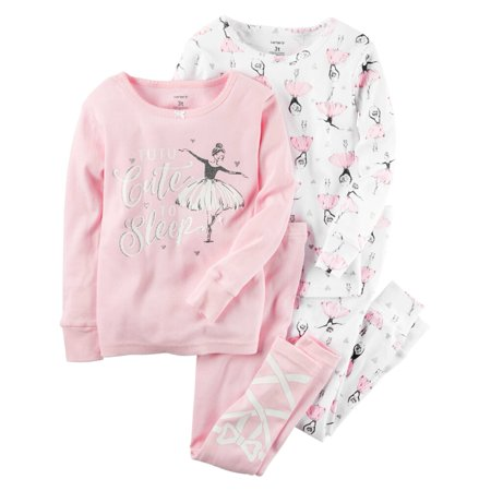 7c91d5a59a50 Carter s - Carters Baby Clothing Outfit Girls 4-Piece Snug Fit ...
