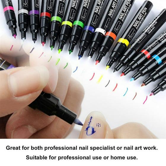 Diy 3d Nail Polishing Stamping Nail Art Pen 7ml Nail Painting Nail