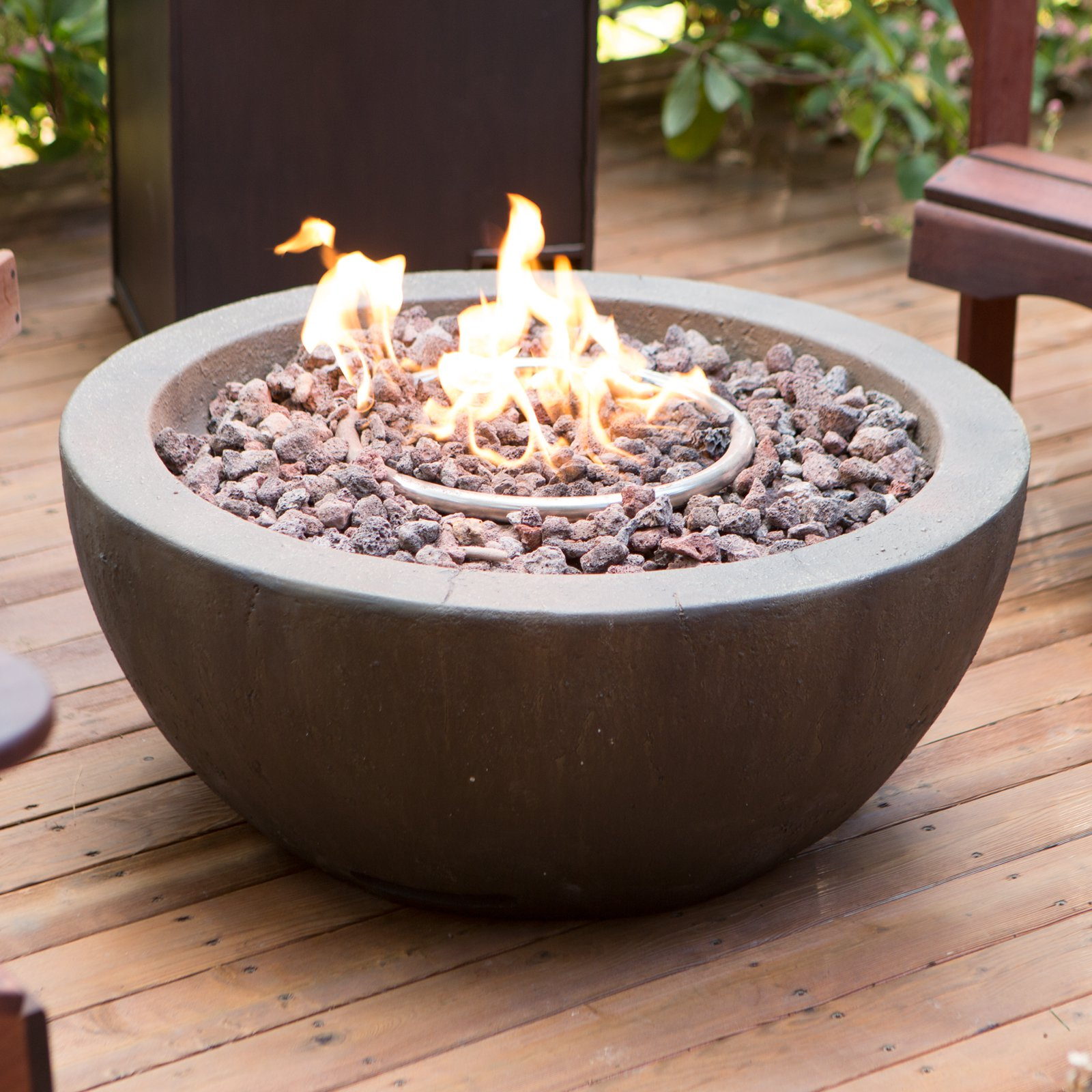 Red Ember Mesa 28 in. Gas Fire Pit Bowl with FREE Cover