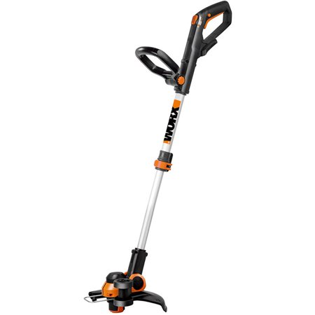"""Worx 12"""" Cordless Grass Trimmer/Edger, Wheeled Edging, Command Feed, No Battery, No Charger Included"""