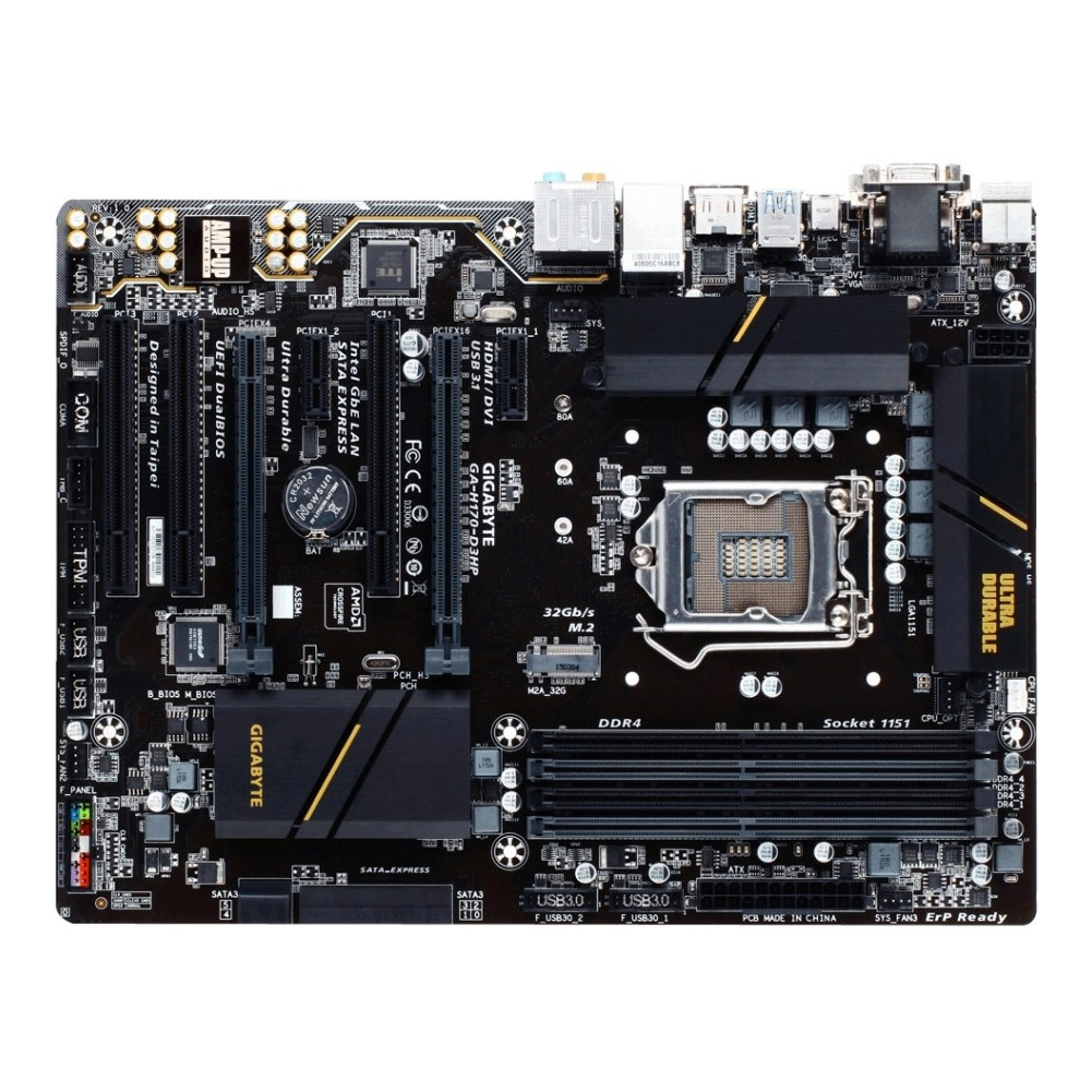 Gigabyte Technology Ultra Durable GA-H170-D3HP ATX Deskto...