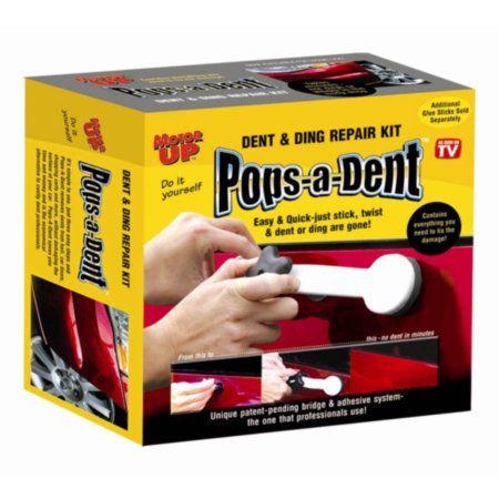 Motor Up Pops-A Dent Repair Kit - Do it yourself dent & ding repair kit, 1 each, sold by each Sensor Repair Parts