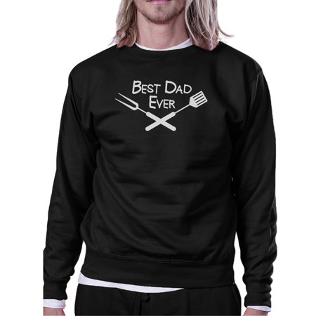 Best Bbq Dad Black Funny Design Sweatshirt Gifts For Barbeque Dad