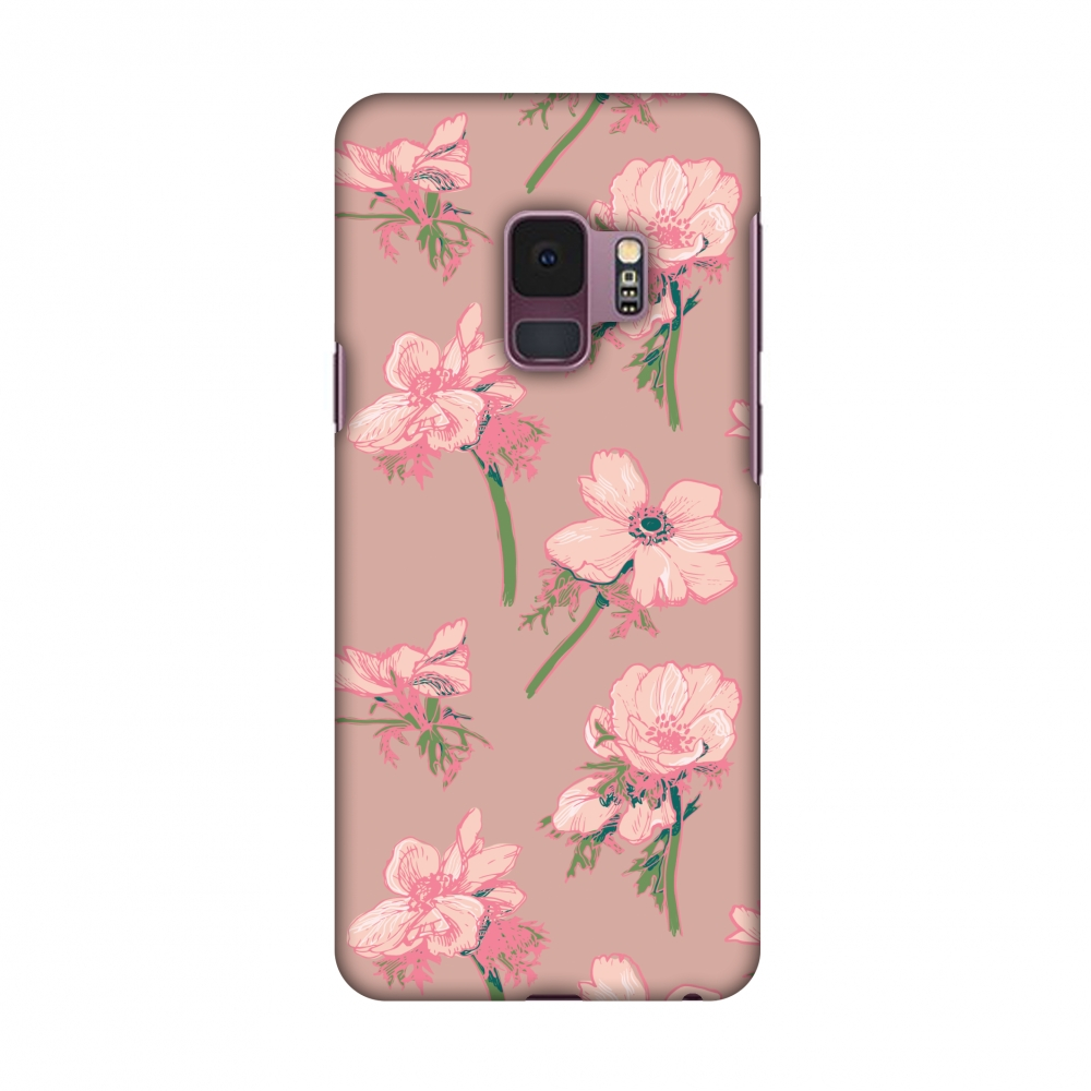 Samsung Galaxy S9 Case,Premium Handcrafted Designer Hard Shell Snap On Case Shockproof Printed Back Cover with Screen Cleaning Kit for Samsung Galaxy S9 - Floral Beauty,Slim,Protective