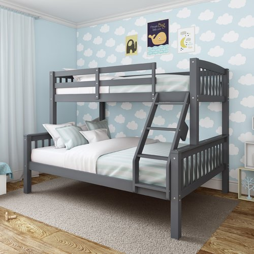 Harriet Bee Edson Twin Over Full Bed
